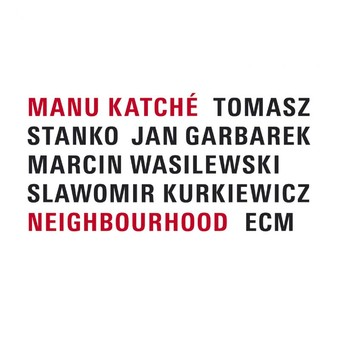VINIL ECM Records Manu Katche: Neighbourhood
