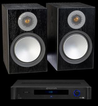 Pachet PROMO Monitor Audio Silver 100 + Emotiva BasX TA-100