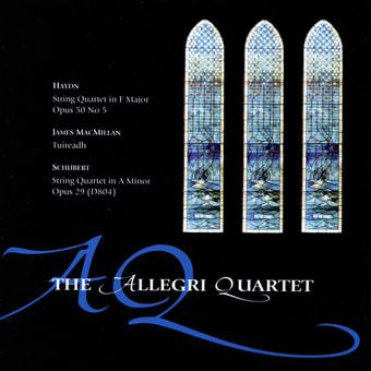CD Naim Allegri String Quartet w James Campbell: Haydn, MacMillan, Schubert