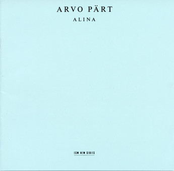 CD ECM Records Arvo Part: Alina
