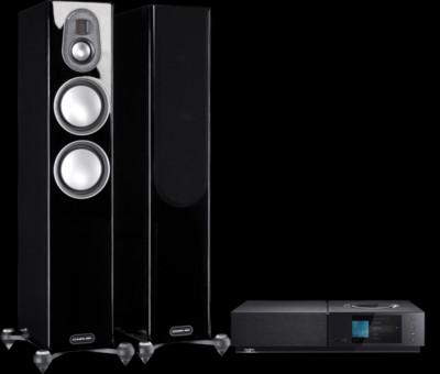 Pachet PROMO Monitor Audio Gold 200 (5G) + Naim Uniti Nova