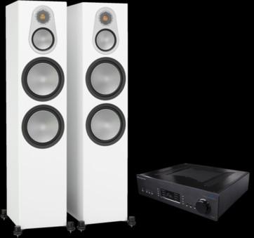 Pachet PROMO Monitor Audio Silver 500 + Cambridge Audio 851A
