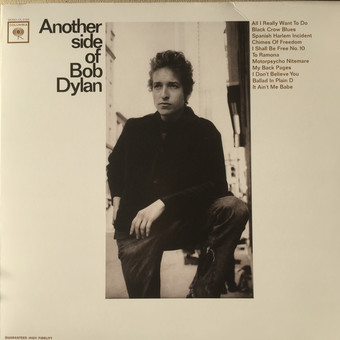 VINIL Universal Records Bob Dylan - Another Side Of Bob Dylan