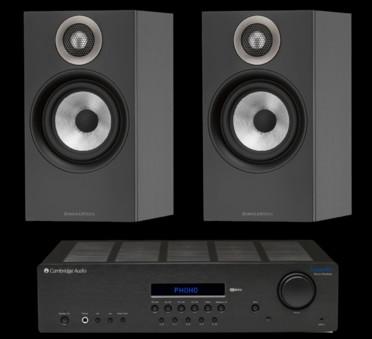 Pachet PROMO Bowers & Wilkins 607 + Cambridge Audio Topaz SR20