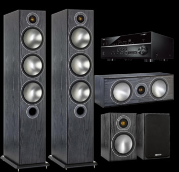 Pachet PROMO Monitor Audio Bronze 6 pachet 5.0 + Yamaha RX-V685