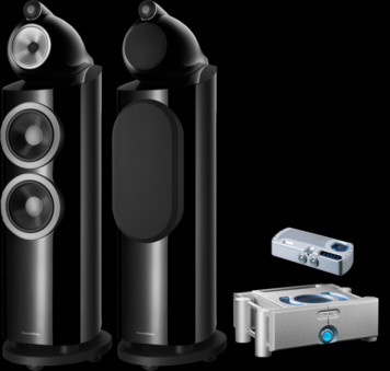 Pachet PROMO Bowers & Wilkins 803 D3 + Chord Electronics Prima si Ultima 6