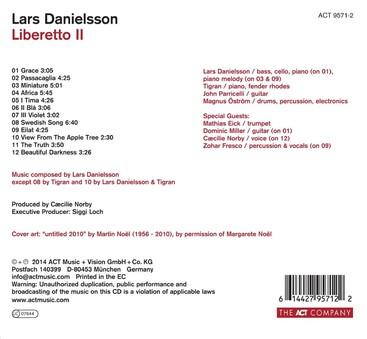 CD ACT Lars Danielsson: Liberetto II
