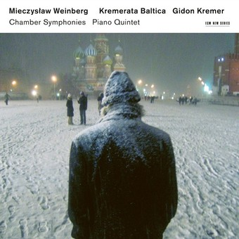 CD ECM Records Gidon Kremer - Mieczyslaw Weinberg: Chamber Symphonies & Piano Quintet