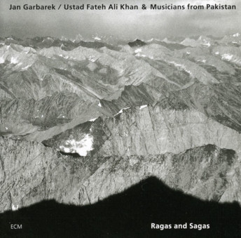 CD ECM Records Jan Garbarek / Ustad Fateh Ali Khan: Ragas and Sagas