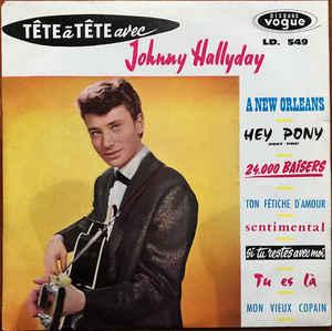 VINIL Universal Records Johny Hallyday - Tete A Tete Avec Johny Hallyday