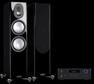 Pachet PROMO Monitor Audio Gold 200 (5G) + Rotel RA-1572