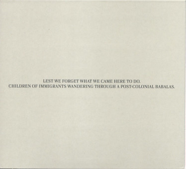 VINIL Naim Sons Of Kemet: Lest We Forget What We Came Here