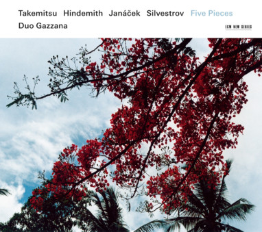 CD ECM Records Duo Gazzana: Five Pieces - Takemitsu / Hindemith / Janacek / Silvestrov