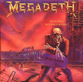 VINIL Universal Records Megadeth - Peace Sells...But Who's Buying