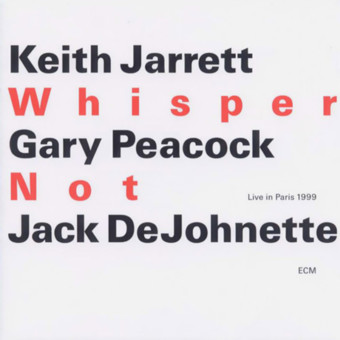 CD ECM Records Keith Jarrett Trio: Whisper Not