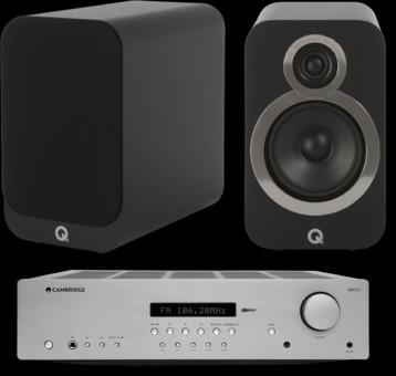 Pachet PROMO Q Acoustics 3020i + Cambridge Audio AXR85