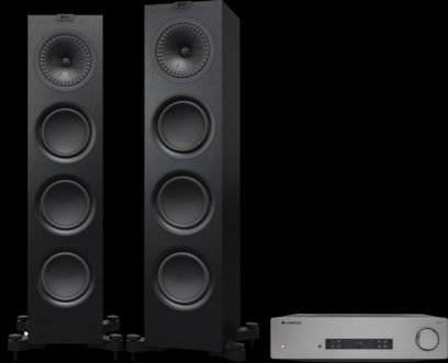 Pachet PROMO KEF Q750 + Cambridge Audio CXA61