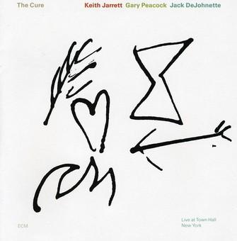 CD ECM Records Keith Jarrett, Gary Peacock, Jack DeJohnette: The Cure