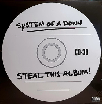 VINIL Universal Records System Of A Down - Steal This Album!