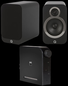 Pachet PROMO Q Acoustics 3020i + NAD D3020 V2