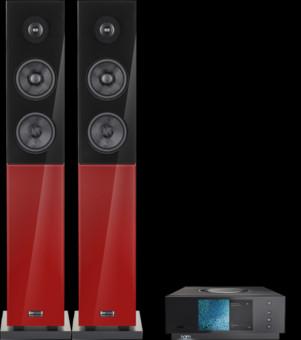 Pachet PROMO Audio Physic Classic 15 + Naim Uniti Atom Glass Black HighGloss