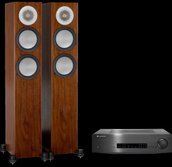 Pachet PROMO Monitor Audio Silver 200 + Cambridge Audio CXA60