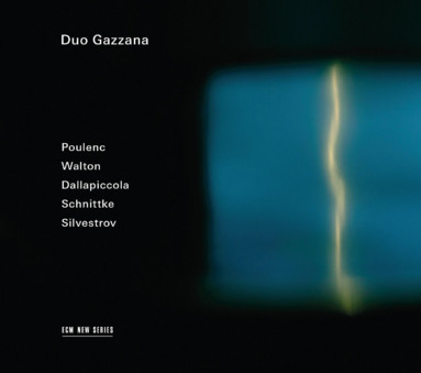 CD ECM Records Duo Gazzana: Schnittke/Poulenc/Silvestrov