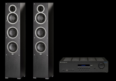 Elac Debut F6  + Cambridge Audio Topaz SR20