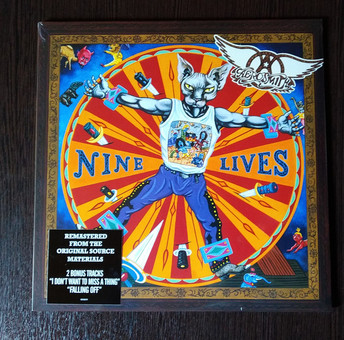 VINIL Universal Records Aerosmith - Nine Lives
