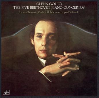 VINIL Universal Records Beethoven: The 5 Piano Concertos ( Glenn Gould )