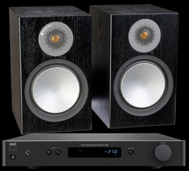 Pachet PROMO Monitor Audio Silver 100 + NAD C 338