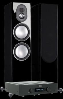 Pachet PROMO Monitor Audio Gold 300 (5G) + Hegel H190