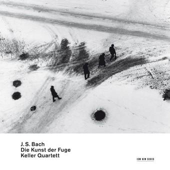 CD ECM Records Keller Quartett - Bach: Die Kunst Die Fugue