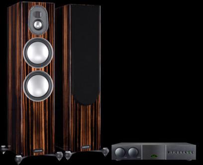 Pachet PROMO Monitor Audio Gold 300 (5G) + Naim Supernait 3