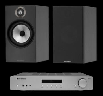 Pachet PROMO Bowers & Wilkins 607 + Cambridge Audio AXA35