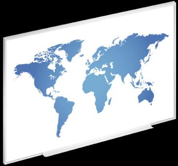 Ecran proiectie Projecta DryErase Screen - whiteboard si suprafata de proiectie