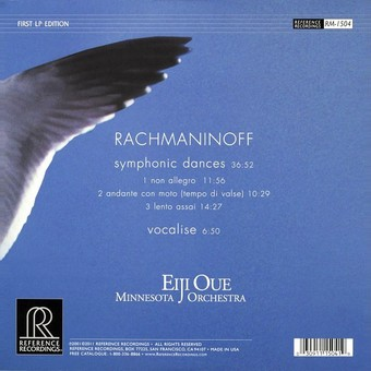 VINIL ProJect Eiji Oue, Minnesota Orchestra - Rachmaninoff: Symphonic Dances
