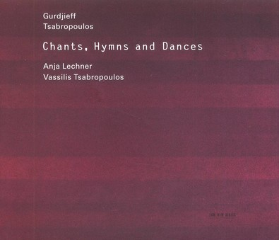 CD ECM Records Anja Lechner / Vassilis Tsabropoulos : Chants, Hymns ...