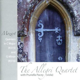 CD Naim Allegri String Quartet w Prunella Pacey: Mozart