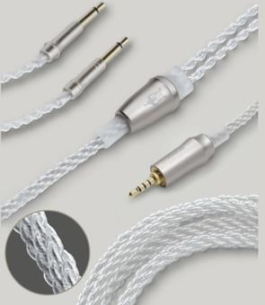 Meze Cablu balansat 4.4mm Pentacon cupru argintat 99 Classic