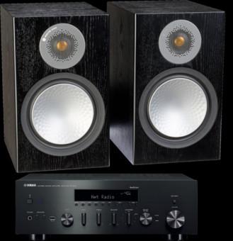 Pachet PROMO Monitor Audio Silver 100 + Yamaha R-N602