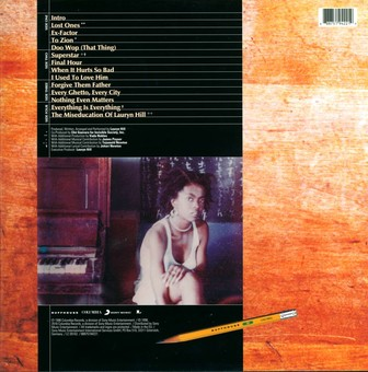 VINIL Universal Records Lauryn Hill: The Miseducation Of Lauryn Hill