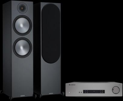 Pachet PROMO Monitor Audio Bronze 500 + Cambridge Audio CXA61