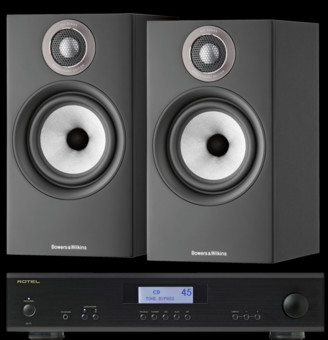 Pachet PROMO Bowers & Wilkins 607 S2 Anniversary Edition + Rotel A-11