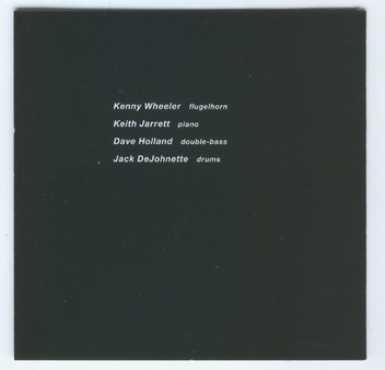 CD ECM Records Kenny Wheeler: Gnu High