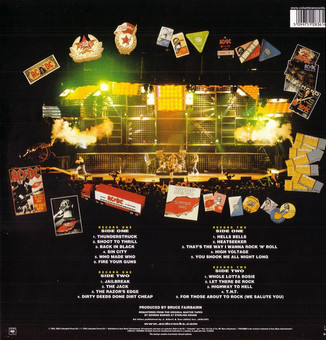 VINIL Universal Records AC/DC - Live (Collectors Edition) (180g Audiophile Pressing)