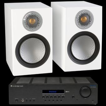 Pachet PROMO Monitor Audio Silver 50 + Cambridge Audio Topaz SR20