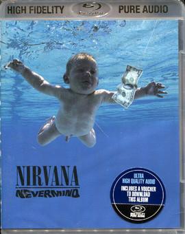 CD Universal Records Nirvana - Nevermind < BluRay Audio >