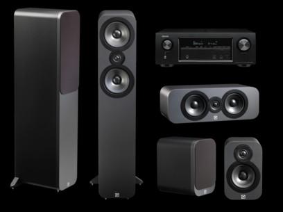 Pachet PROMO Q Acoustics 3050 pack 5.0 + Denon AVR-X1300W
