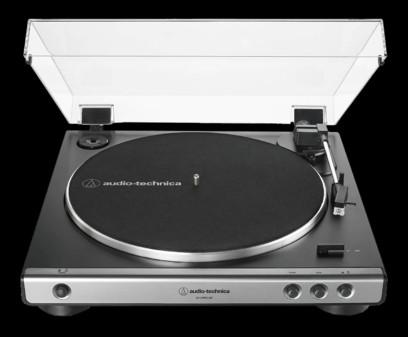 Pickup Audio-Technica AT-LP60XUSB Argintiu
